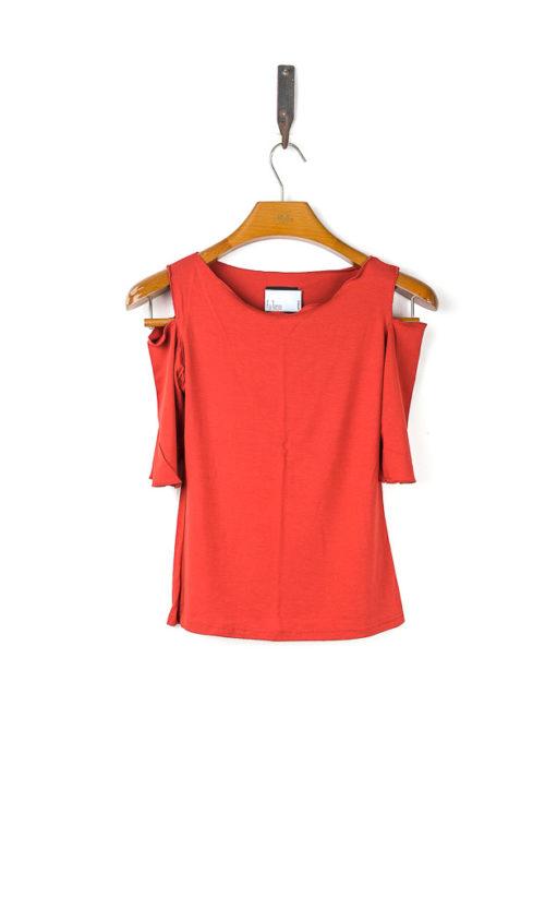 Sholli Top 3/4 Sleeve - Orange