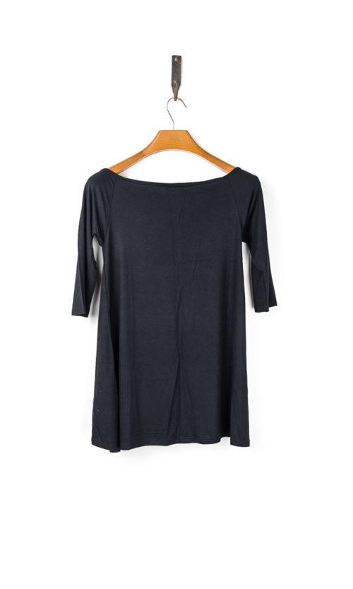 Jackie Tee 3/4 Sleeve - Black