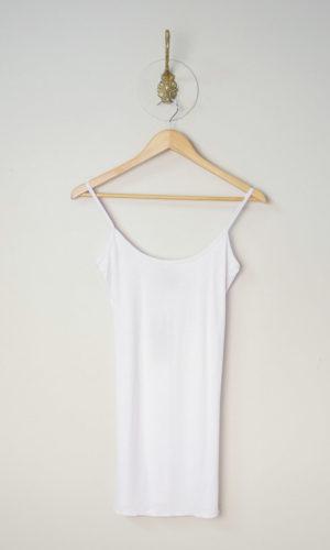 Singlet Slip - White