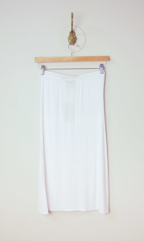Tube Slip - White
