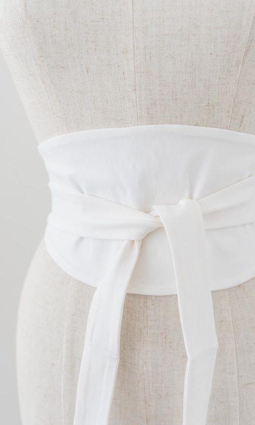 Ubee Belt - White