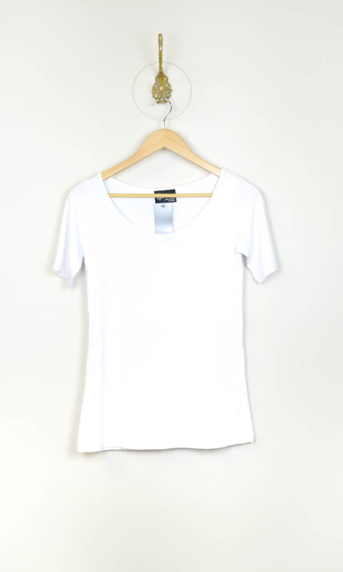 Trooper Tee Short Sleeve - White