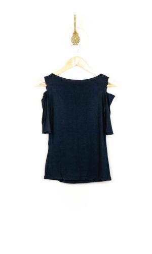 Sholli Top Short Sleeve - Black