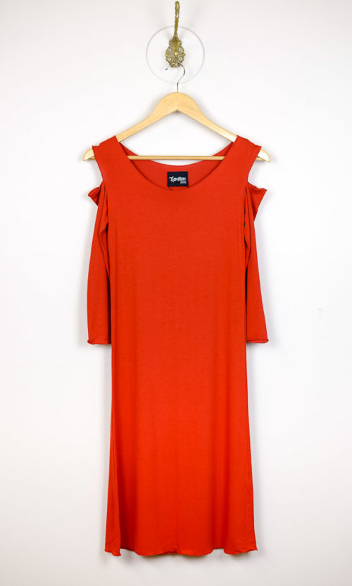 Sholli Slip 3/4 Sleeve - Orange