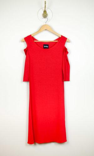 Sholli Slip 3/4 Sleeve - Red