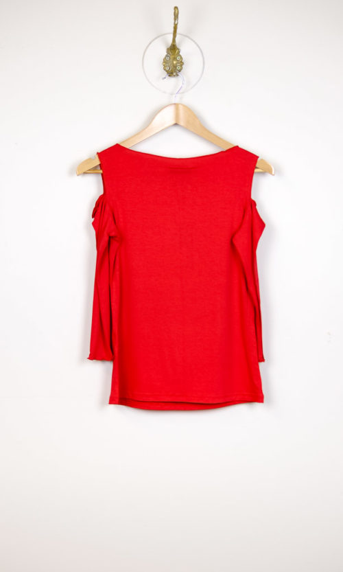 Sholli Top 3/4 Sleeve - Red