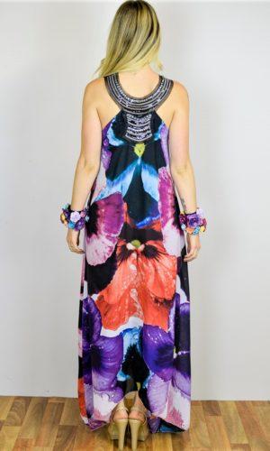 Web Dress - Pansy