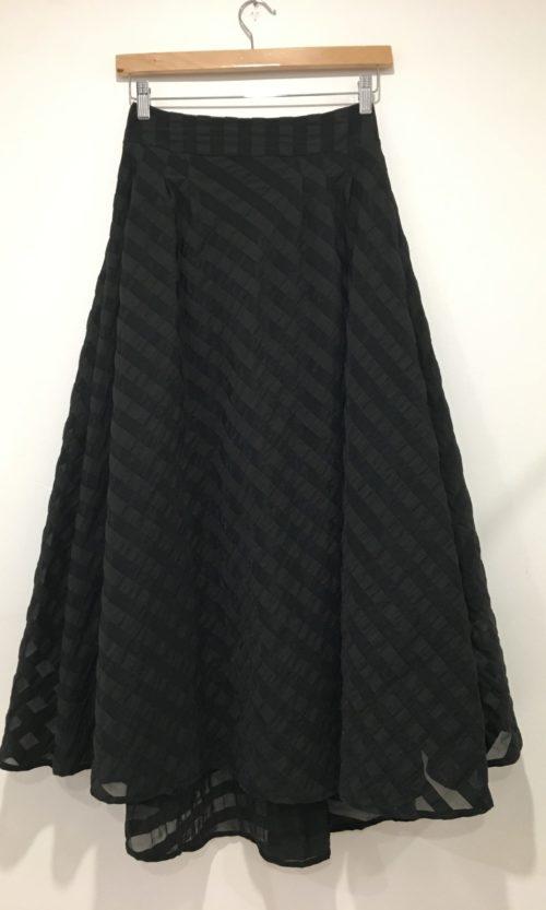 Santo Skirt - Black Stripe