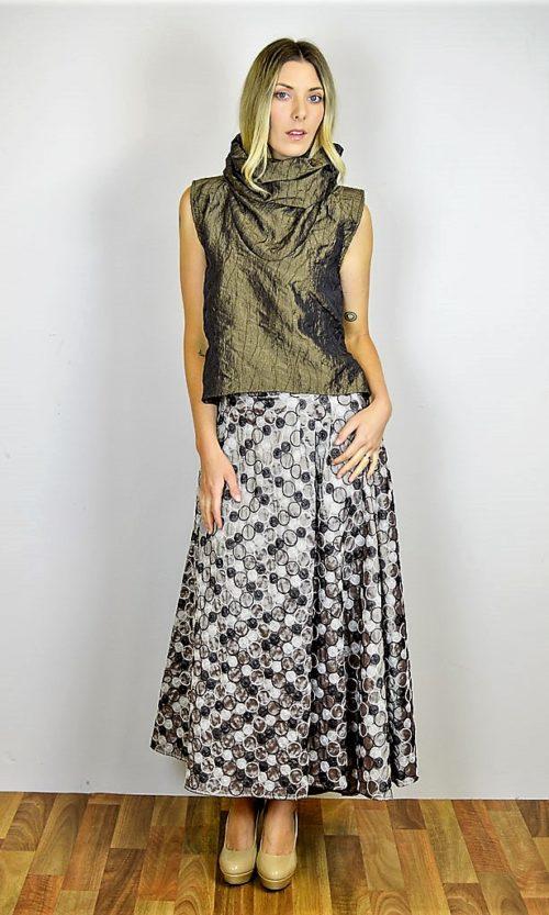 Santo Skirt - Gold Circle