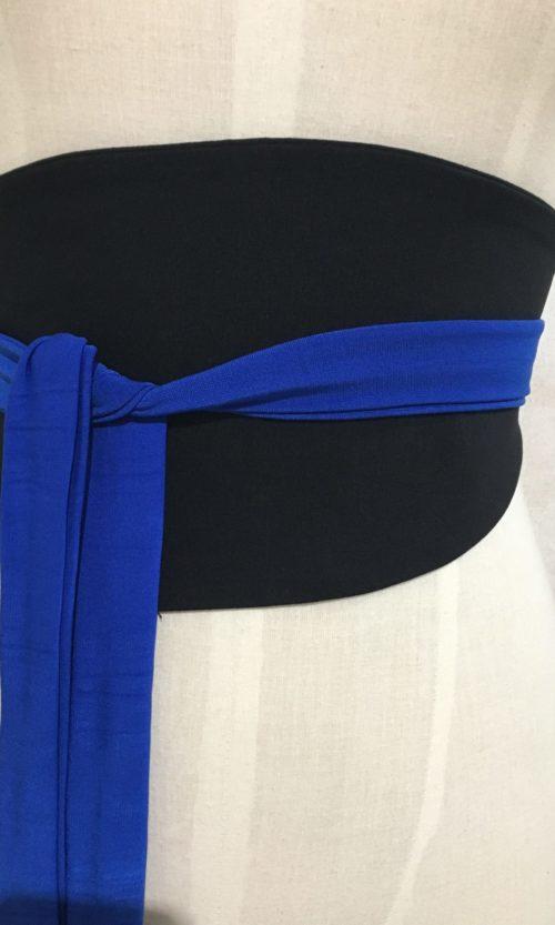 Ubee Belt - Black/Cobalt