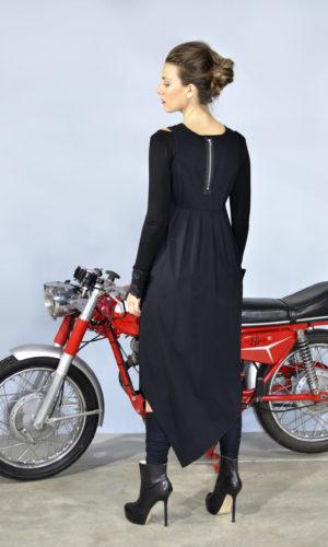 Zoop Dress - Long Black