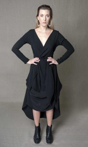 Harper Jay 3/4 sleeve - Black