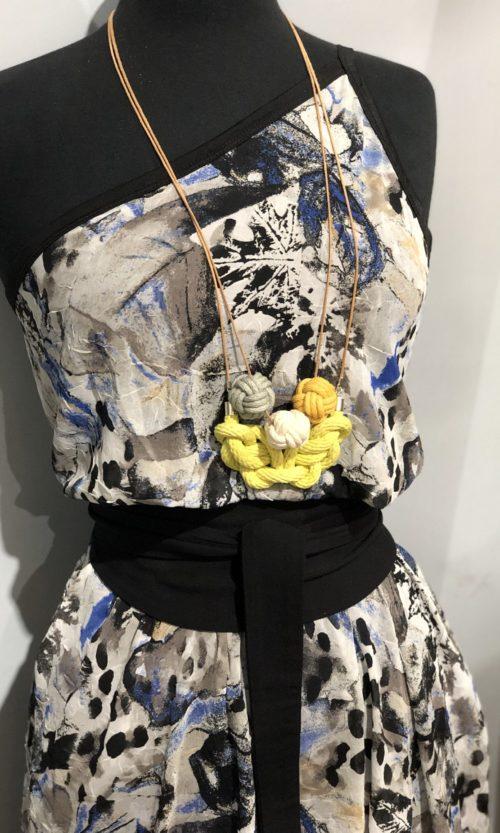 Toni Dress - Blue Rock