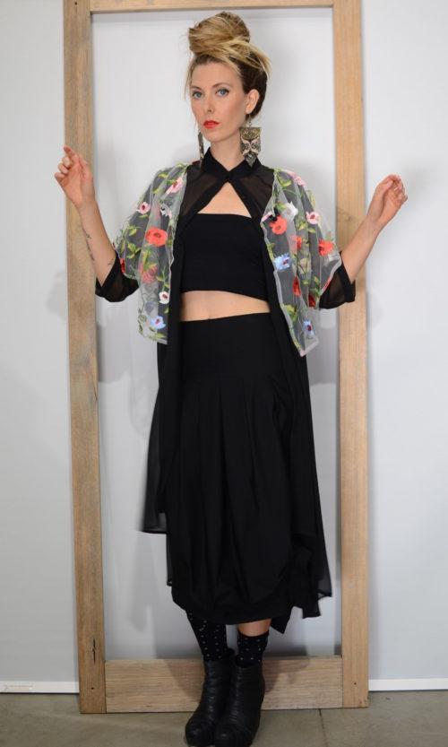 One Skirt - Black