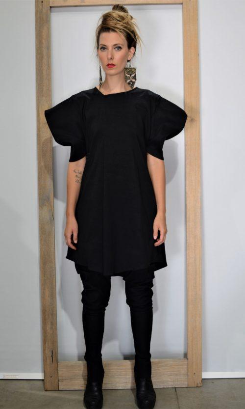 Tunnel Dress - Black