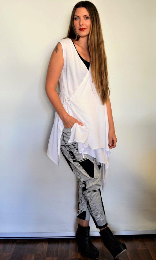 Marble Pant - Black/White
