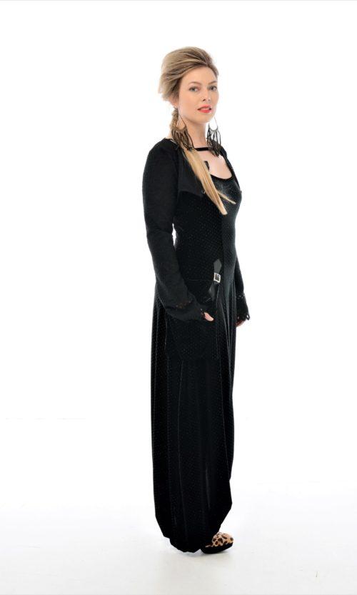 Bustier - Black Lace