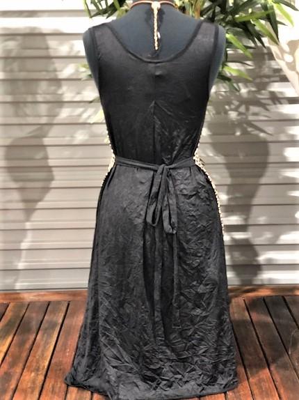 Summer Larch Dress - Black Leopard