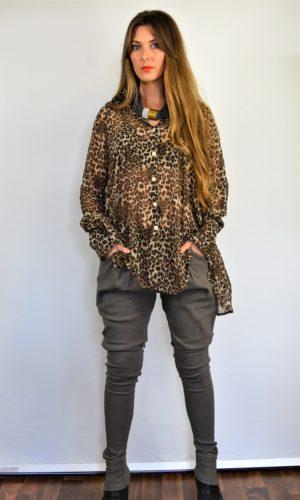 Katie Shirt - Leopard