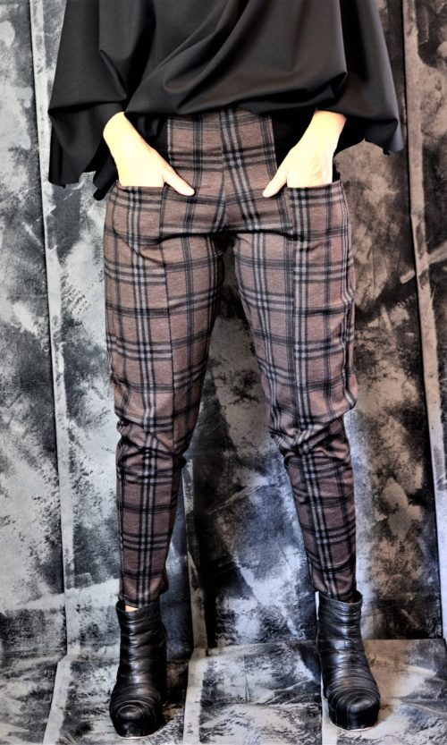 Marble Pant - Copper/Check