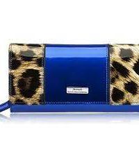 Serenade: Darlene Leather Wallet - Blue