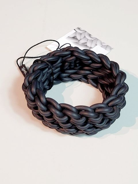 Knit Bracelet-Black